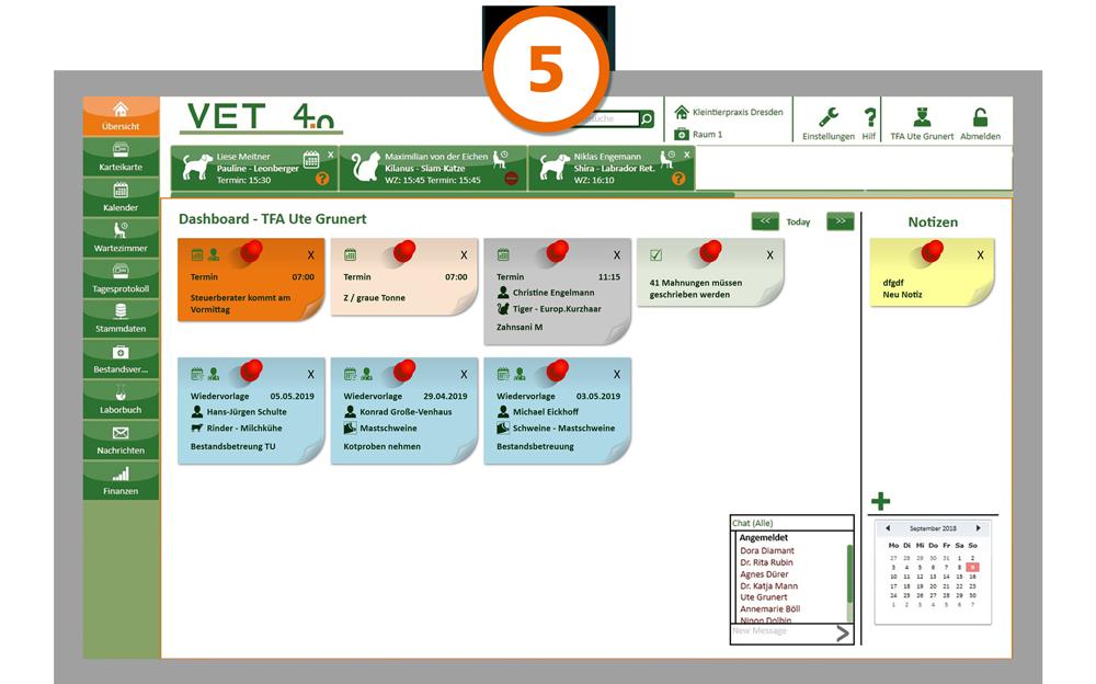 Praxismanagement VET4.0 Beispiel Programm